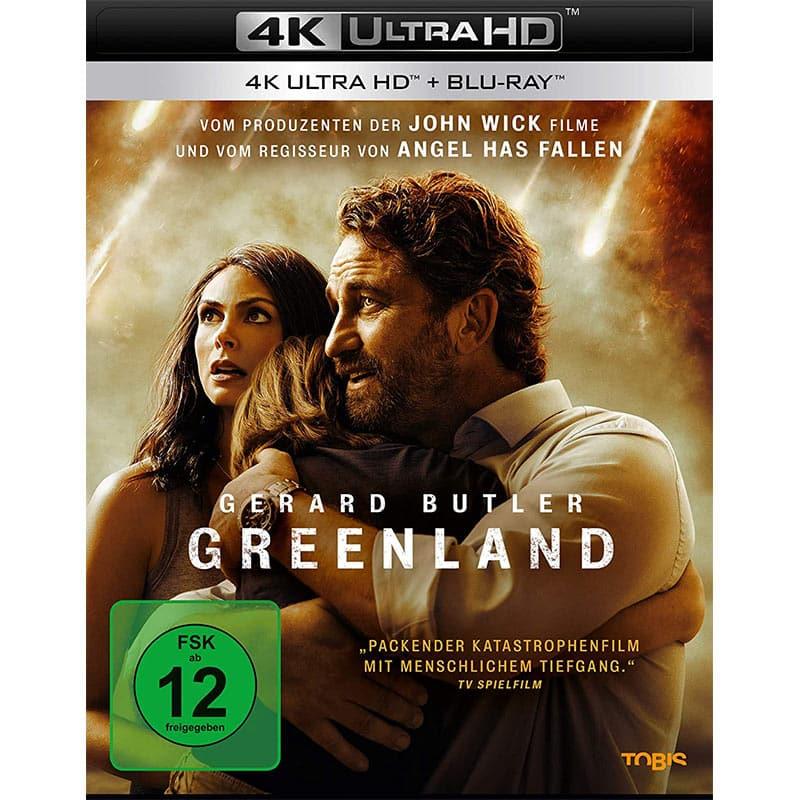 """Greenland"" ab März 2021 auf 4K Blu-ray, HD Blu-ray und DVD"