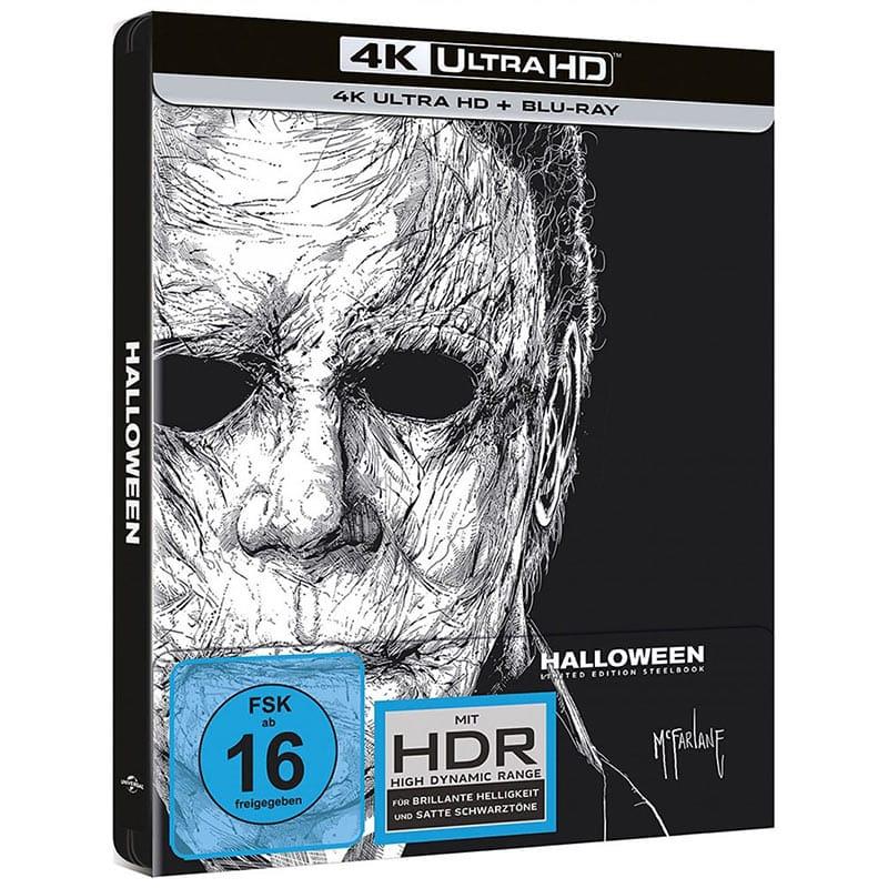 Halloween (2018) – Steelbook Edition (4K UHD + Blu-ray) für 22,99€
