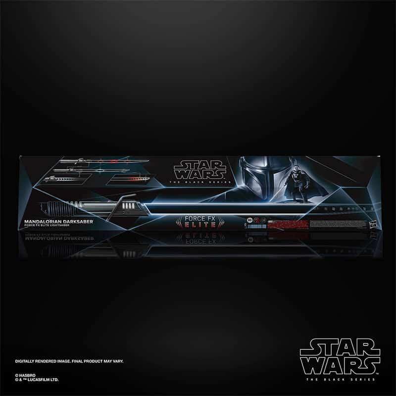 Star Wars: Mandalorian – Darksaber Force FX Elite Lightsaber (Hasbro | The Black Series)