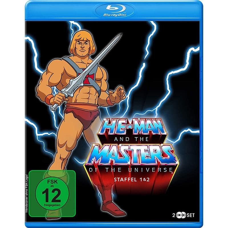 He-Man and the Masters of the Universe – Staffel 1+2 [Blu-ray] für 39,74€