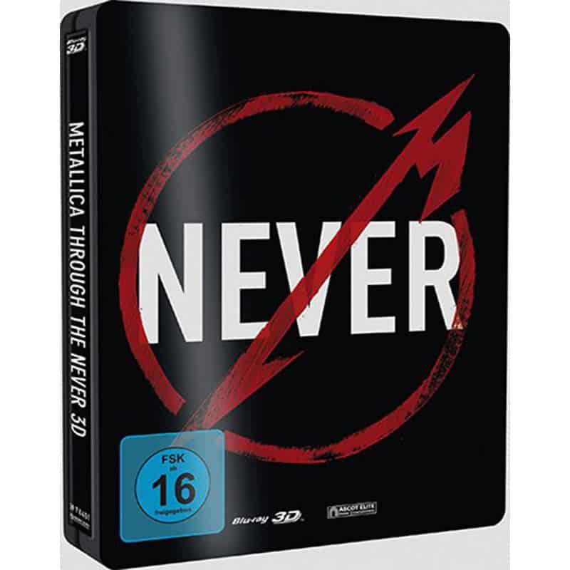 Metallica – Through The Never 2 – Steelbook Edition (Blu-ray 3D + Blu-ray 2D) für 7,77€