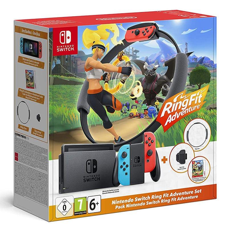 Nintendo Switch im Ring Fit Adventure-Set
