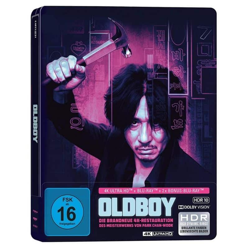 Oldboy – Steelbook Edition (Glow in the Dark) (4K UHD + Blu-ray) für 19,99€