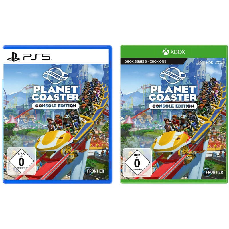 Planet Coaster (PlayStation 5 und Xbox One/Series X) für je 33,85€