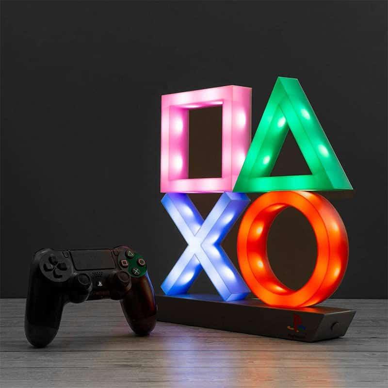 Playstation Logo Icons Leuchte XL für 19,99€