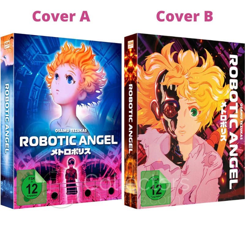 """""""Robotic Angel"""" ab März 2021 in 2 Blu-ray Mediabooks"""