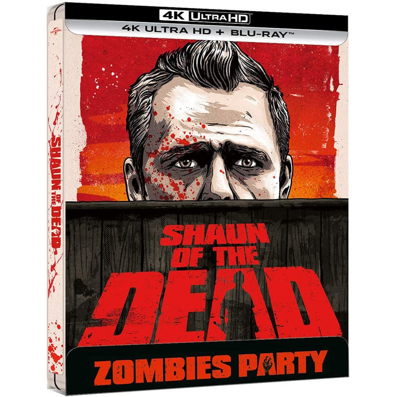 Shaun of the Dead – Steelbook Edition (4K UHD + Blu-ray) für 26,31€ (Spanien)