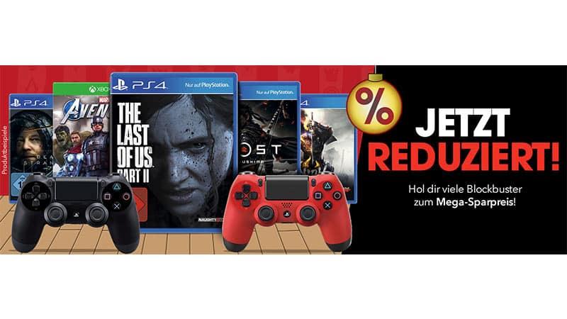 Blockbuster Games reduziert bei Gamestop – unter anderem: Death Stranding für 17,45€ | The Last of Us Part II  für 29,09€ | Nioh 2  für 24,24€