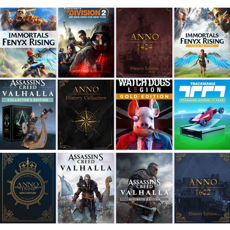 Zusätzliche 21% Rabatt im Ubi Store – unter anderem: Assassin's Creed Valhalla Collectors Edition (PC) für 142,19€