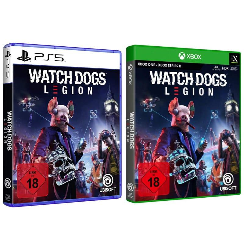 Watch Dogs Legion – Standard Edition für 24,90€ und Ultimate Edition für 35,40€ (PS4/5, Xbox Series X/ One)