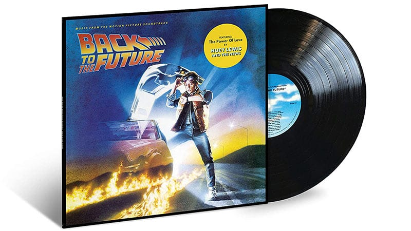 """Back to the Future"" Soundtrack auf Vinyl (Black Vinyl) 