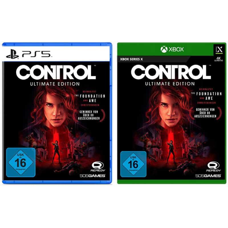 """""""Control Ultimate Edition"""" ab März 2021 für die Playstation 5 und Xbox Series X"""