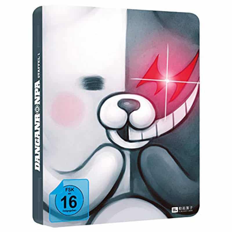 Danganronpa: Staffel 1 Gesamtausgabe – FuturePak Edition (Blu-ray) für 30,59€