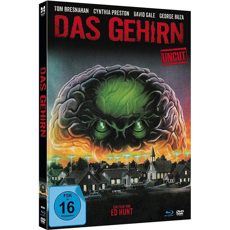 Das Gehirn (The Brain) – Mediabook Edition (Blu-ray + DVD) für 14,97€