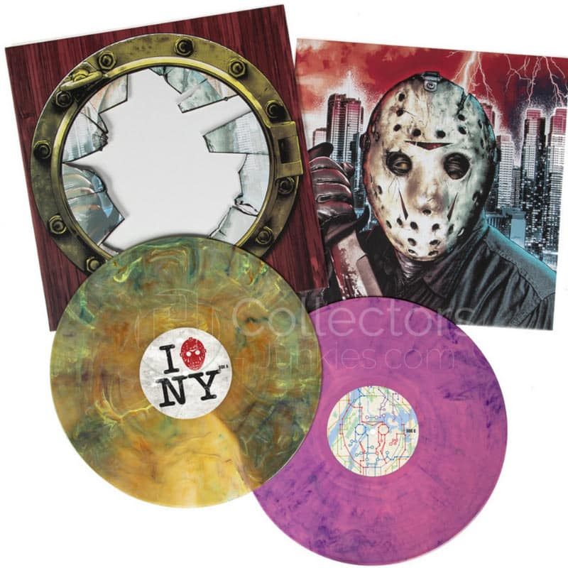 """Firday the 13th Part VIII: Jason Takes Manhattan"" Original Motion Picture Score ab Februar 2021 auf Vinyl"