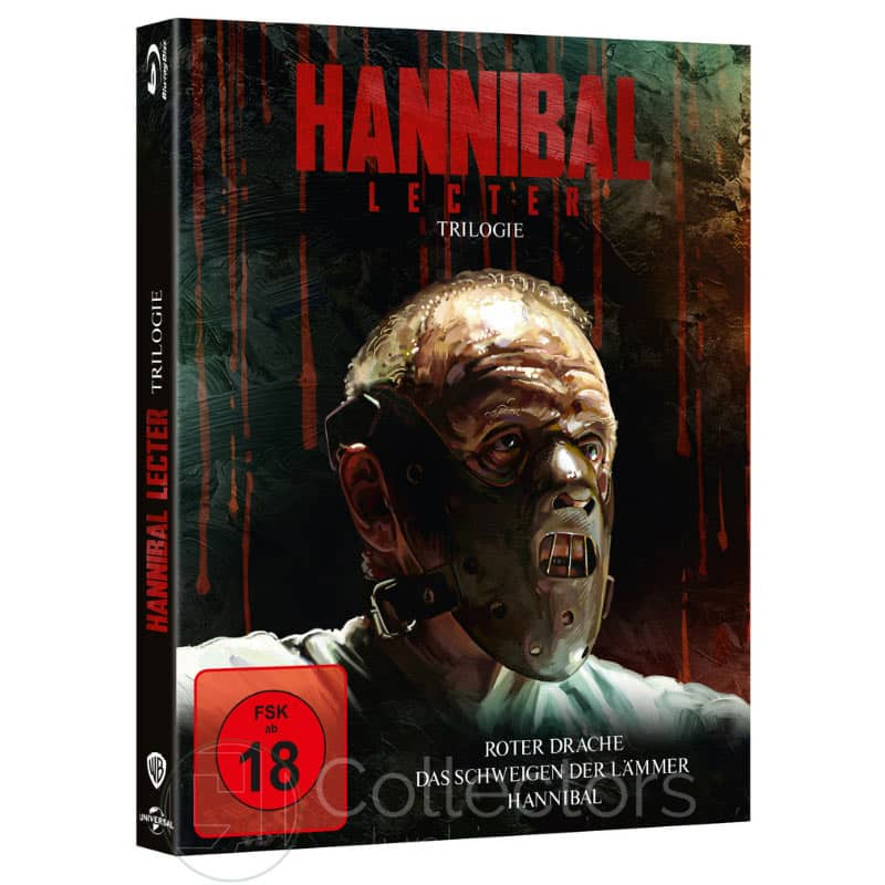 """""""Hannibal Lecter Trilogie"""" ab März auf Blu-ray und DVD"""