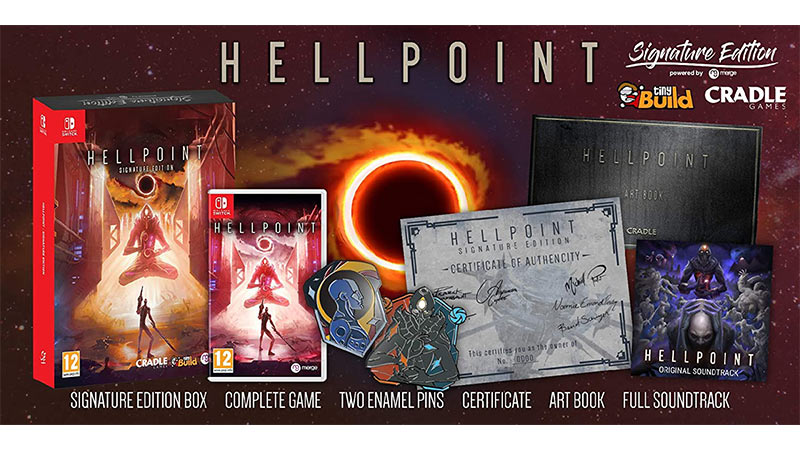 """Hellpoint"" ab 2021 in einer Signature Edition für die Nintendo Switch und Playstation 4 (Spanien)"