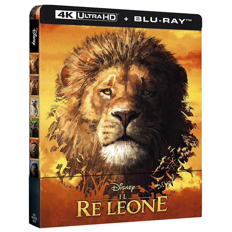 Der König der Löwen (2019) – Steelbook Edition (4K UHD + Blu-ray) für 25,02€ (Italien)