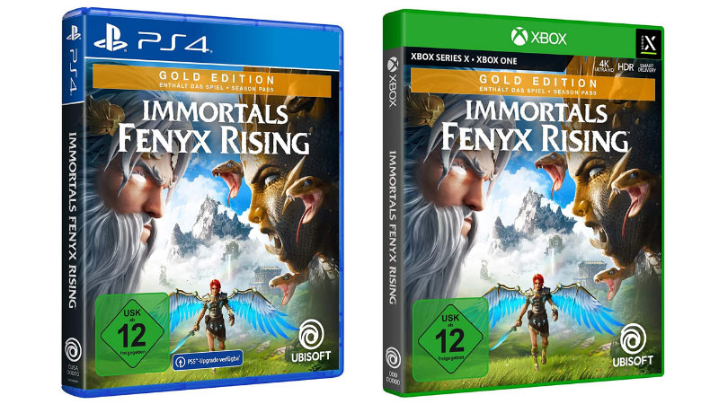 Immortals Fenyx Rising – Gold Edition (Playstation 4, Xbox One/Series X) für 55,79€ | Standard Varianten für je 38,99€