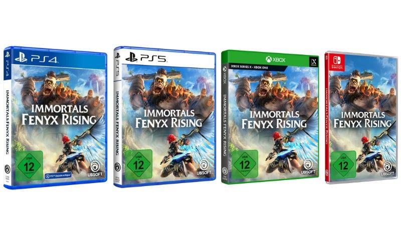 Immortals Fenyx Rising – Standard Variante für je 29,95€ (Playstation 4, Xbox One/Series X, Nintendo Switch)