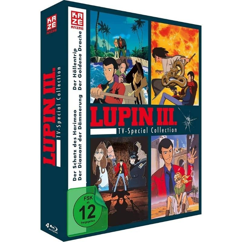 """""""Lupin the 3rd – TV Special Collection"""" ab Februar 2021 auf Blu-ray und DVD"""
