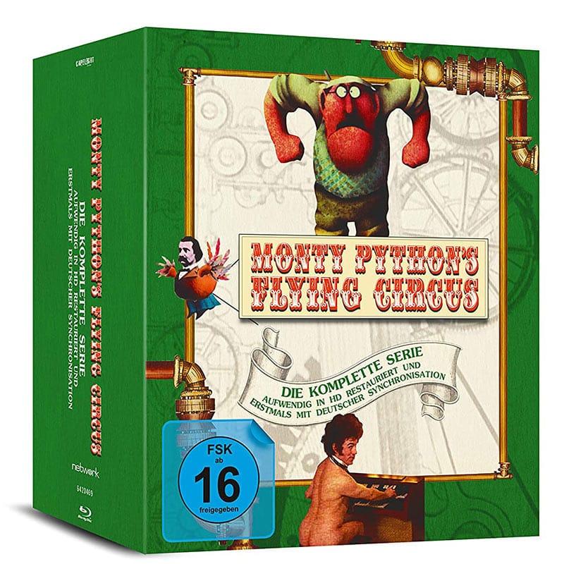 """""""Monty Python's Flying Circus – Die komplette Serie"""" ab März 2021 auf Blu-ray"""