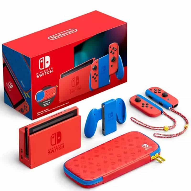 """Nintendo Switch Konsole"" ab Februar 2021 in der rot-blauen Mario-Edition"