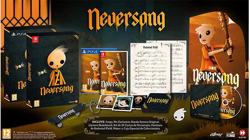 """""""Neversong"""" ab 2021 in einer Collector's Edition für die Nintendo Switch und Playstation 4 (Spanien)"""