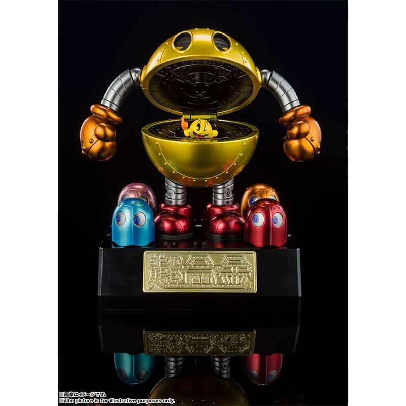 Pac-Man Chogokin Diecast Modell (Tamashii Nations | Chogokin Reihe)
