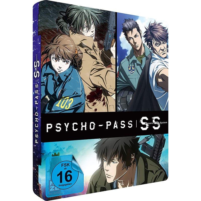 Psycho-Pass: Sinners of the System – 3-Film Collection im FuturePak (Blu-ray) für 47,04€