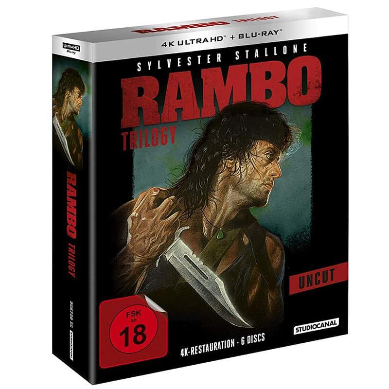 Rambo Trilogy (4K UHD + Blu-ray) für 39,97€