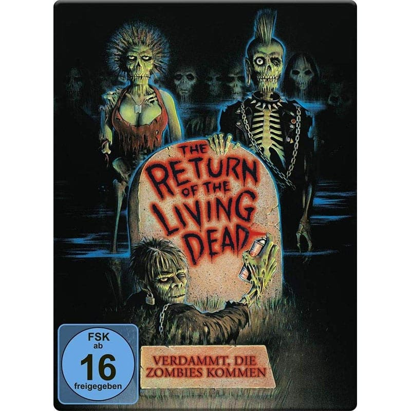 Return of the living Dead – Verdammt, die Zombies kommen – Steelbook Edition (Blu-ray) für 14,99€