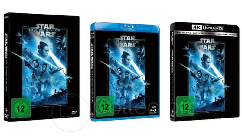 """""""Star Wars: Der Aufstieg Skywalkers"""" ab April 2021 in der Line Look 2020 Edition"""
