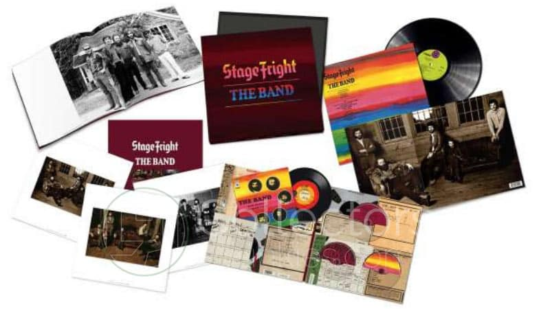 The Band – Stage Fright – 50th Anniversary Deluxe Set