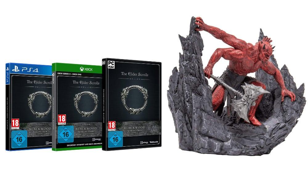 """""""The Elder Scrolls Online Collection: Blackwood"""" ab Juni 2021 für Playstation 4, Xbox One und PC   TESO Mehrunes Dagon Premium Bundle"""