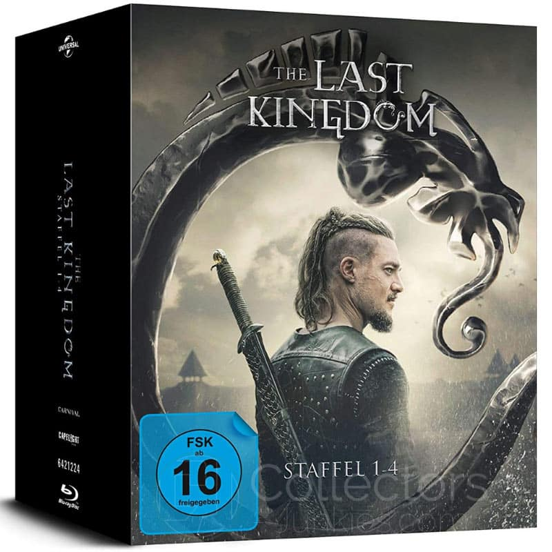 """The Last Kingdom"" Staffel 1-4 ab März 2021 auf Blu-ray und DVD"