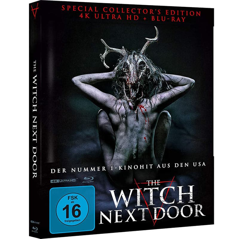 The Witch Next Door – Amazon exklusive Mediabook Edition (Cover A) (4K UHD + Blu-ray) für 26,22€