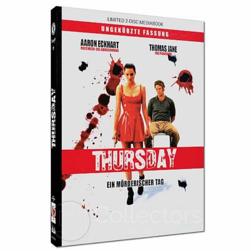 """""""Thursday – Ein mörderischer Tag"""" ab März 2021 im Blu-ray Mediabook"""