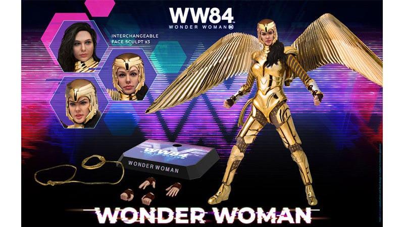 Wonder Woman 1984: Wonder Woman 1/9 Actionfigur (Beast Kingdom Toys)