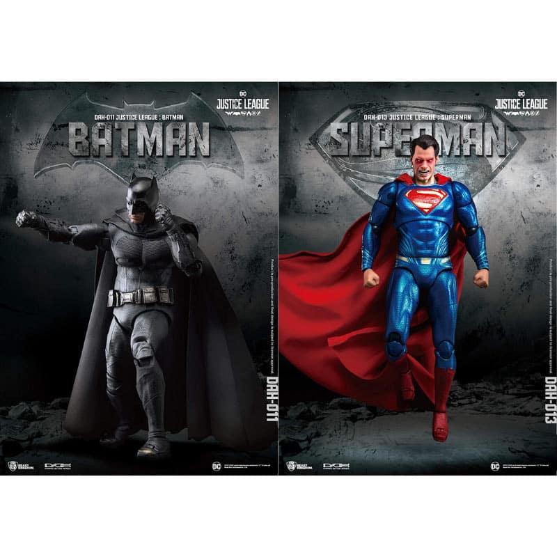 Justice League: Batman 1/9 Figur für 52,87€ und Superman 1/9 Figur für 51€ (Beast Kingdom Toys)