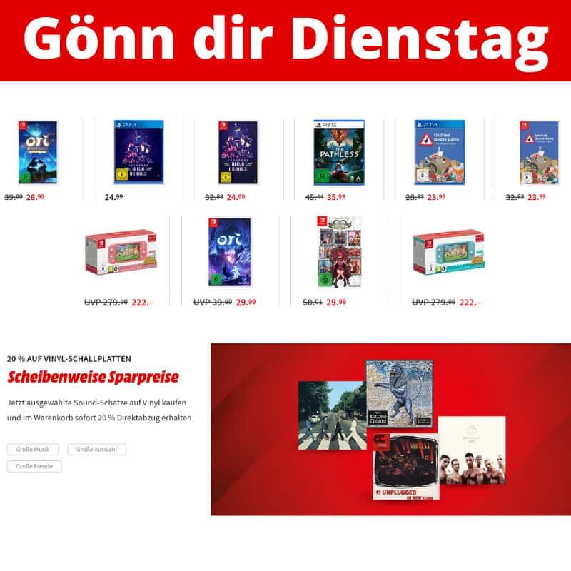 Gönn dir Dienstag Aktion – unter anderem mit: Untitled Goose Game – [Nintendo Switch] für 23,99€