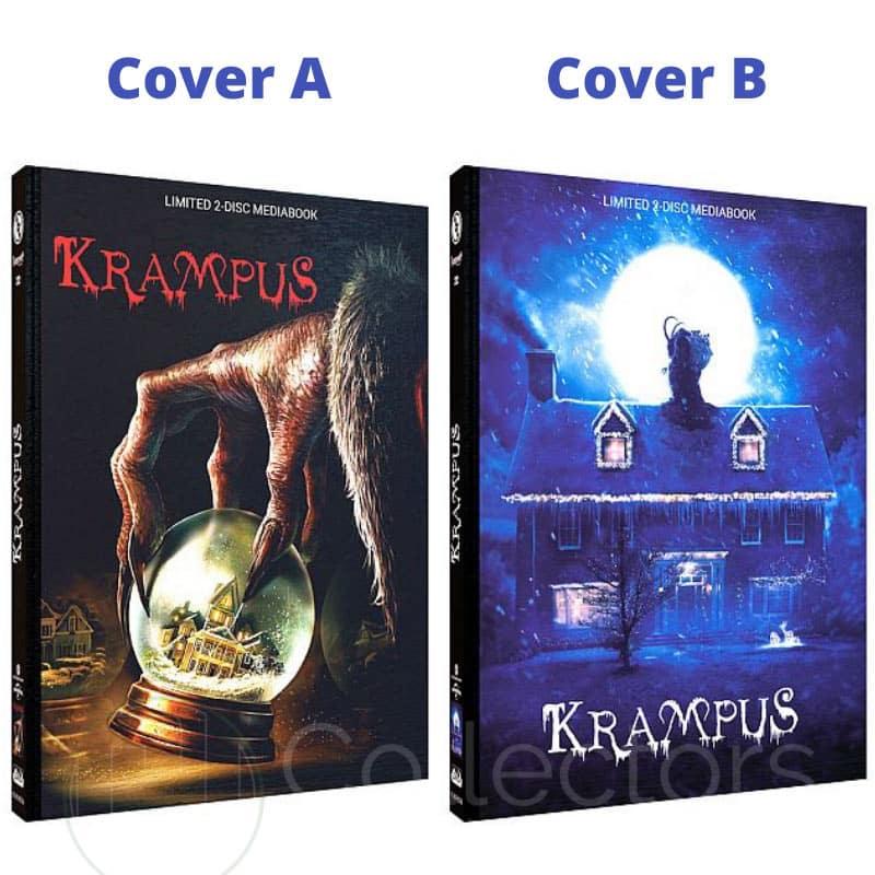 """Krampus"" ab März 2021 in 2 Blu-ray Mediabooks"