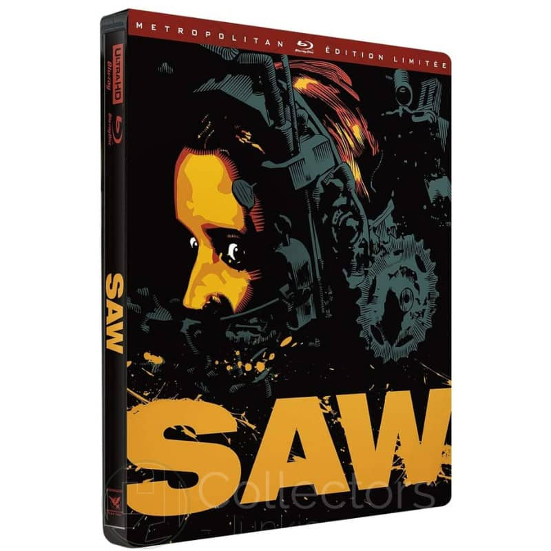 """Saw"" ab Juni 2021 im 4K Steelbook (Frankreich)"