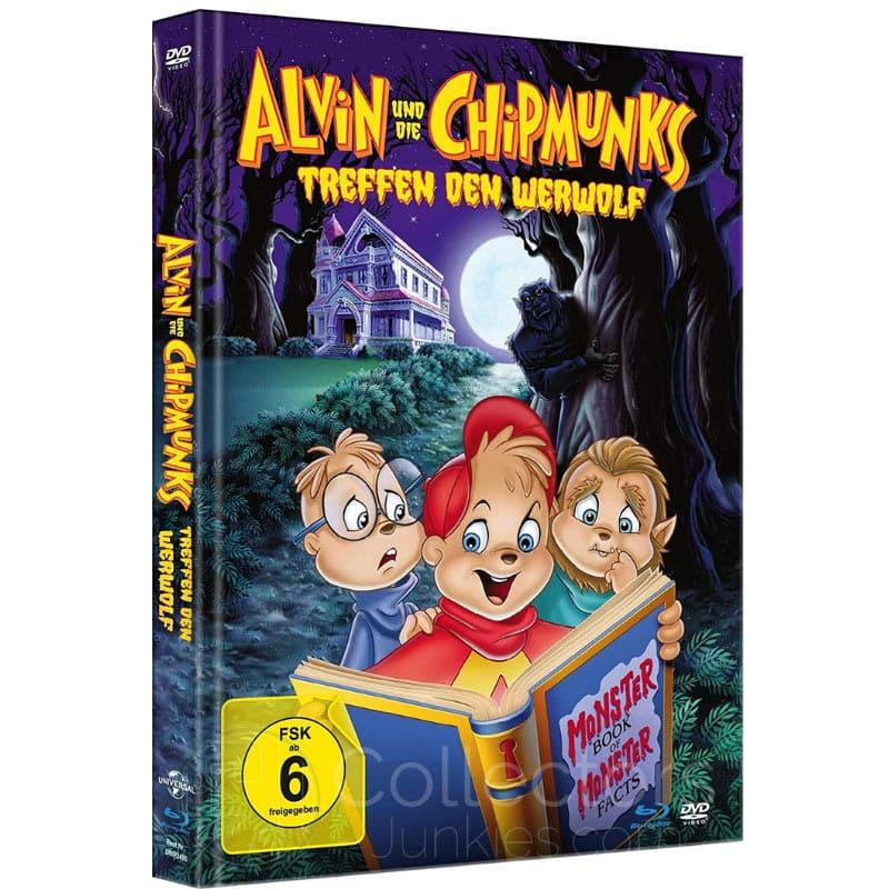 """""""Alvin und die Chipmunks treffen den Werwolf"""" im Blu-ray Mediabook für 13,99€"""