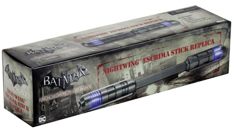 Batman Arkham Knight: Nightwing's Escrima Stick 1/1 Replik (Neca)
