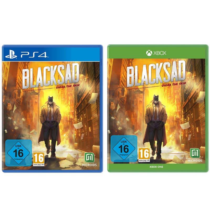 Blacksad – Under the Skin (Playstation 4 und Xbox One) für je 9,99€