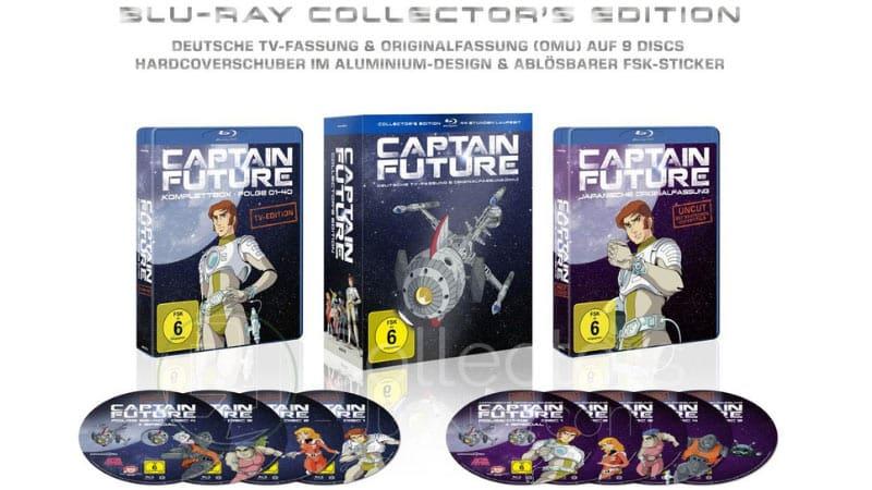 Captain Future – Komplettbox Collector's Edition für 76,55€
