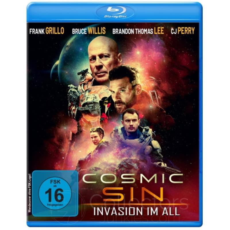 """Cosmic Sin – Invasion im All"" ab Mai 2021 als limited Edition auf 4K UHD und Blu-ray"