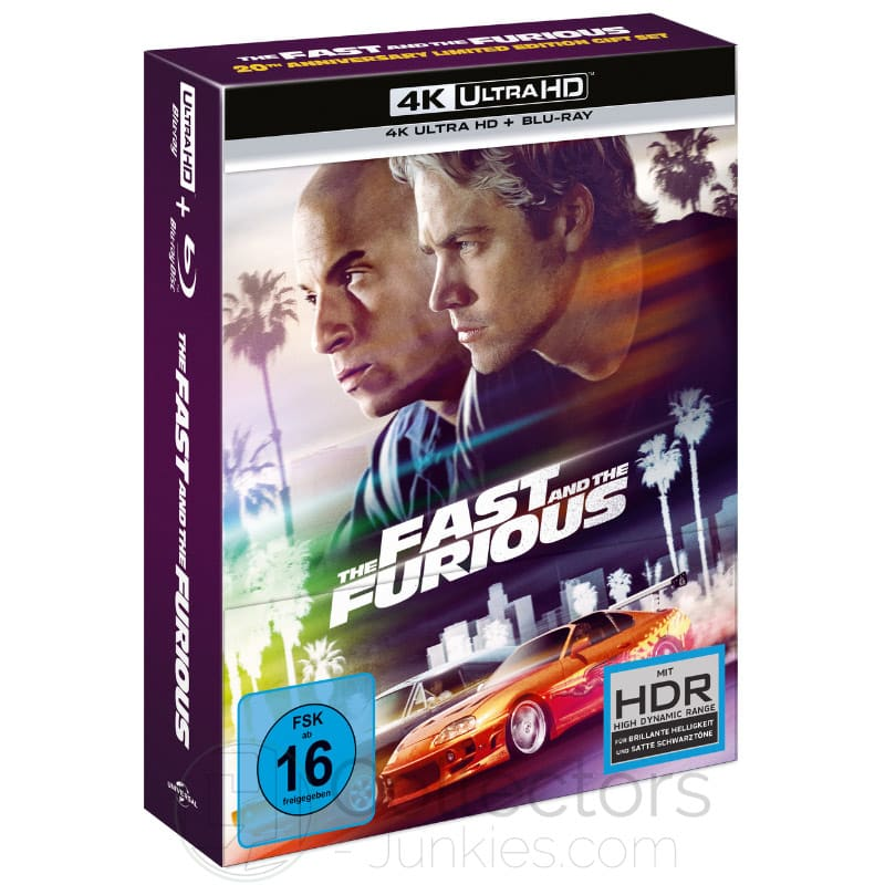 """The Fast & The Furious"" ab Mai 2021 im 4K Gift Set inkl. Steelbook"