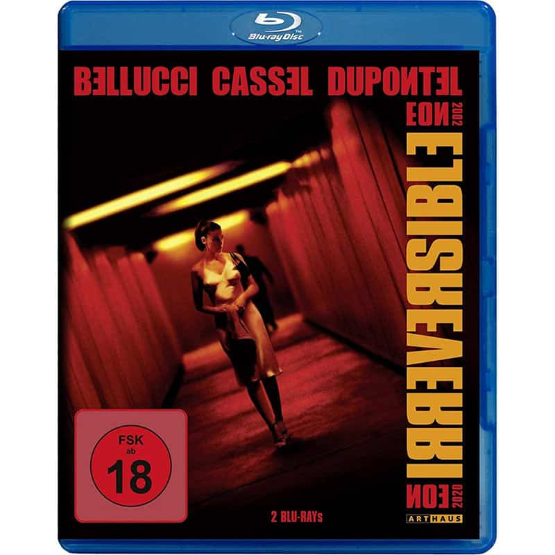 """""""Irreversible"""" ab April 2021 in einer Blu-ray Collectors Edition (inkl. Straight Cut)"""